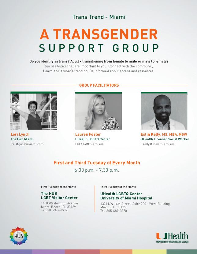 Transgender support group